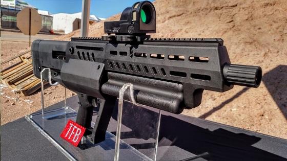 iwi tavor ts 12 - bullpup shotgun