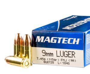 Magtech - 9MM 115GR FMJ AMMO