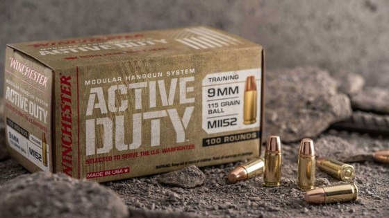 Winchester  ACTIVE DUTY M1152 9MM LUGER AMMO