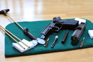 HOW to clean handgun