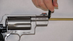 how to measure revolver barrel length