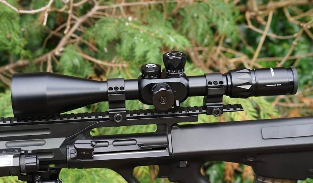 Side Focus On a Scope